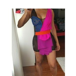 Dresses & Skirts - Dominique Auxilly Couture Mini dress Sz s